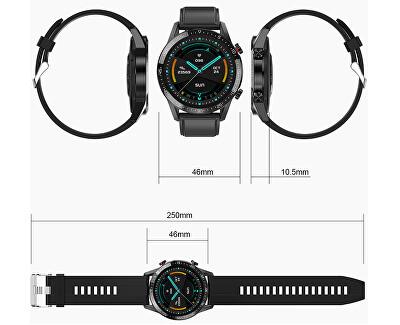 Smartwatch WT35BLL - Negru Leather