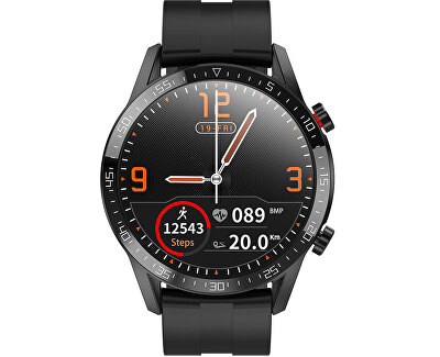 Smartwatch WT30BS - Black Silicone