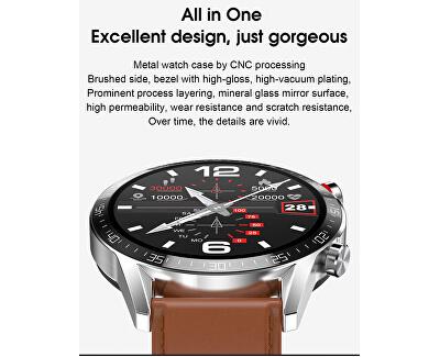 Smartwatch WT33SST - Silver Steel - SLEVA