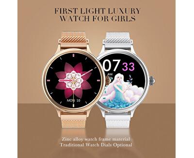 Smartwatch W40G - Rose Gold