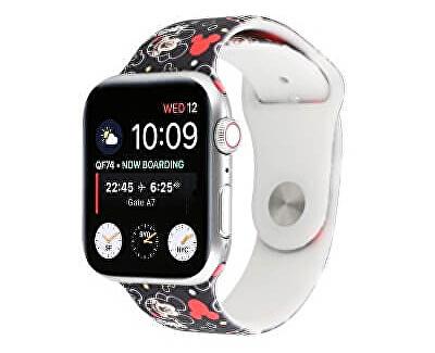 Silikonový řemínek pro Apple Watch - Mickey Mouse 38/40 mm