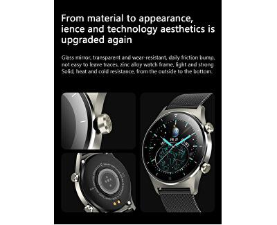 Smartwatch W44BST - Black Stainless