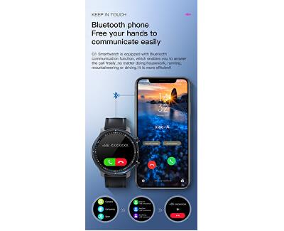 Smartwatch W31PL - Pink Leather