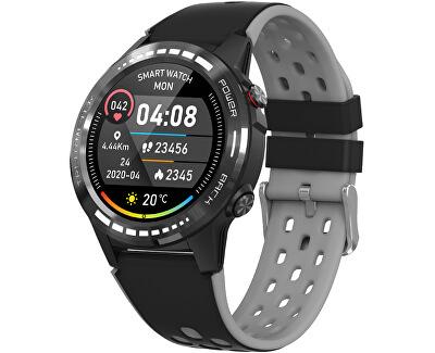GPS Smartwatch W70G cu busolă, barometru și altimetru  - Negru