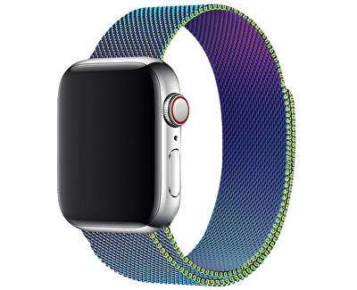 Ocelový milánský tah pro Apple Watch - Vícebarevný 42/44 mm