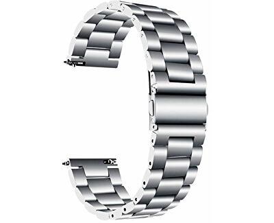 Ocelový tah pro Samsung Galaxy Watch - Silver 22 mm