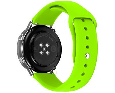 Silikonový řemínek pro Samsung Galaxy Watch - Green 20 mm
