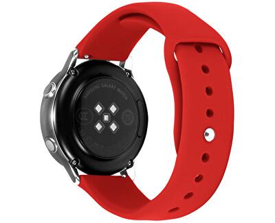 Silikonový řemínek pro Samsung Galaxy Watch - Red 22 mm