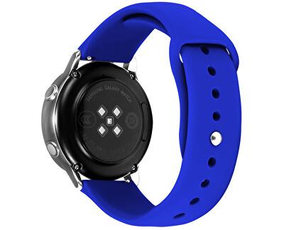 Silikonový řemínek pro Samsung Galaxy Watch - Royal Blue 20 mm