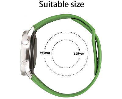 Silikonový řemínek pro Samsung Galaxy Watch - Black 22 mm
