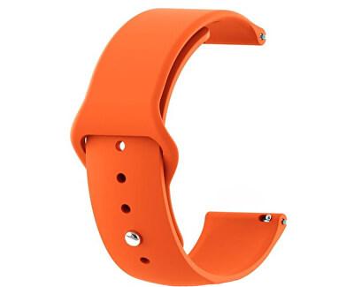 Silikonový řemínek pro Samsung Galaxy Watch - Orange 20 mm