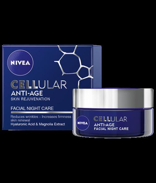 Hyaluron Cellular Filler 50 ml bőrfeszesítő éjszakai krém..