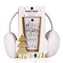 Set cadou cu urechi din blană Winter magic
