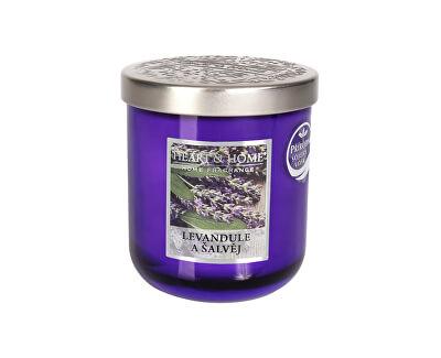 Vonná svíčka střední Levandule a šalvěj 115 g