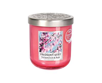 Vonná svíčka střední Třešňový květ 115 g