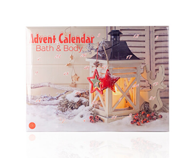 Calendar Advent Bath andBody