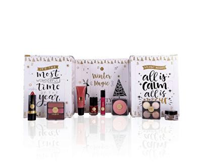Adventní kalendář dekorativní kosmetiky Winter Magic