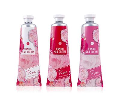 Krém na ruce a nehty Rose (Hand & Nail Cream) 60 ml