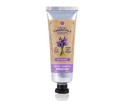 Crema pentru mâini si unghii cu ulei de lavandă Lavender (Hand & Nail Cream) 60 ml