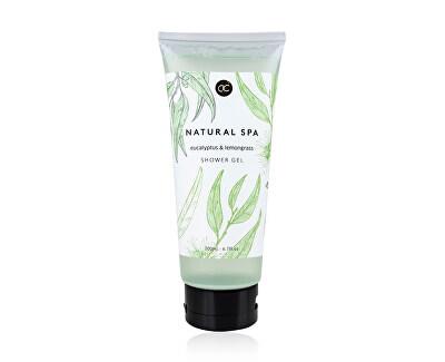 Sprchový gel eukalyptus a citronová tráva Natural Spa (Shower Gel) 200 ml