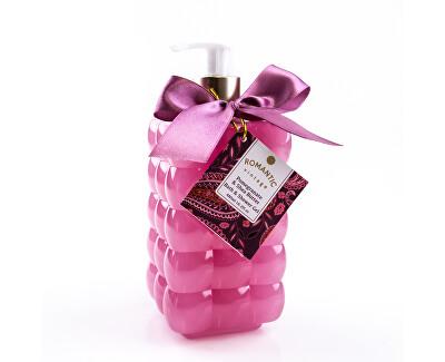 Sprchový a koupelový gel s pumpičkou s vůní granátového jablka a bambuckého másla Romantic Vintage (Bath & Shower Gel) 480 ml