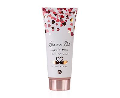 Gel de duș cu miros de magnolie Heart Cascade (Shower Gel) 200 ml