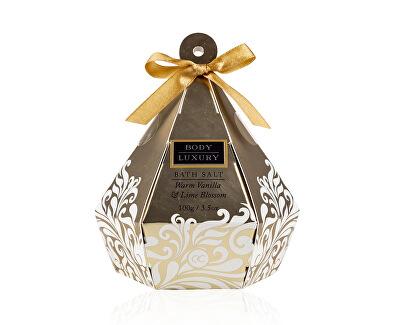 Sůl do koupele Body Luxury Warm Vanilla & Lime Blossom (Bath Salt) 100 g