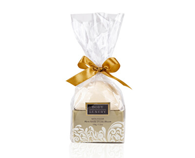 Bombă de baie efervescenta Body Luxury Warm Vanilla & Lime Blossom (Bath Fizzer) 150 g