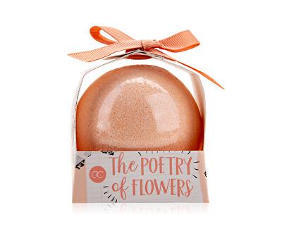 Šumivá bomba s vůní růže a zimolezu Poetry of Flowers (Bath Fizzer) 150 g