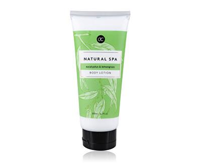 Tělové mléko eukalyptus a citronová tráva Natural Spa (Body Lotion) 200 ml