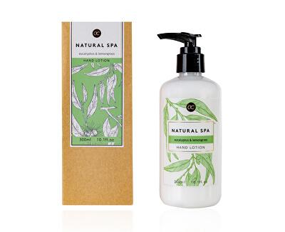 Jemné mléko na tělo a ruce eukalyptus a citronová tráva Natural Spa (Hand Lotion) 300 ml