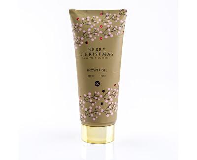 Sprchový gel s vůní vanilky a brusinky Berry Christmas (Shower Gel) 200 ml