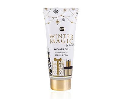 Vyživující sprchový gel Winter Magic Vanilla & Musk (Shower Gel) 200 ml