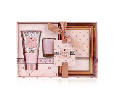 Set cadou cu ramă foto Romantic Dreams