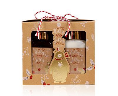 Set cadou pentru îngrijirea corpului Iced Pudding Holly Jolly