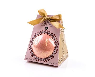 Sare de baie cu aroma de vanilie si coacăze într-un ambalaj cadou Berry Christmas(Bath Salt) 150 g