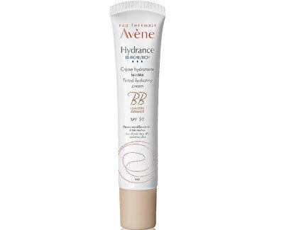 Cremă hidratantă si nutritivă pentru tonifiere SPF 30 Hydrance Riche (Tinted Hydrating Cream) 40 ml