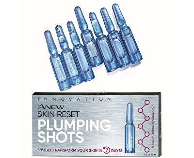 Vyplňující pleťové ampulky Anew Skin Reset Plumping Shots 7 x 1,3 ml
