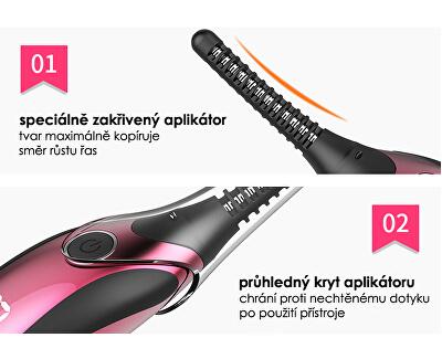 Elektronická řasenka BeautyRelax Brush & Go BR-1460