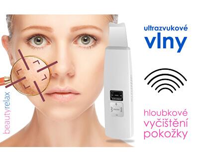 Aparat cosmetic pentru față de curățare cu ultrasunete BR-1010