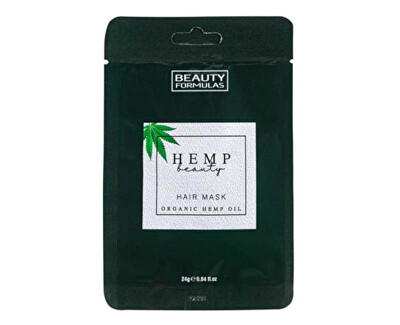 Mască de păr cu cânepă Hemp Beauty (Hair Mask Organic Hemp Oil) 24 g