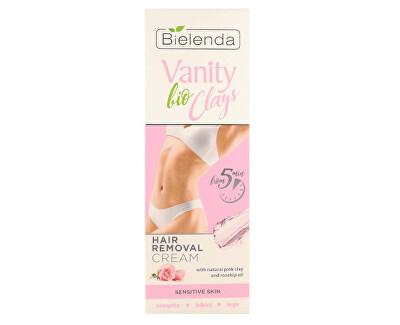 Depilační krém s růžovým jílem Vanity Clays (Hair Removal Cream) 100 ml