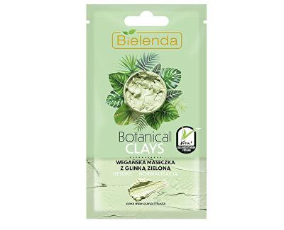 Detoxikační maska pro mastnou a smíšenou pleť s jílem Botanical Clays (Vegan Mask) 8 g