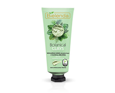 Antioxidans-Gesichtscreme mit Ton Botanical Clays (Detox Cream) 50 ml