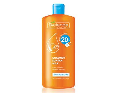 Hydratační kokosové mléko na opalování SPF 20 Sun Care (Coconut Suntan Milk) 200 ml