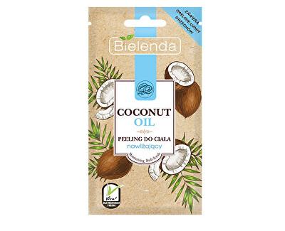 Hydratační tělový peeling Coconut Oil (Moisturizing Body Peeling) 30 g