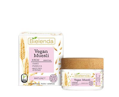 Matující pleťový krém Vegan Müsli (Matting Cream) 50 ml