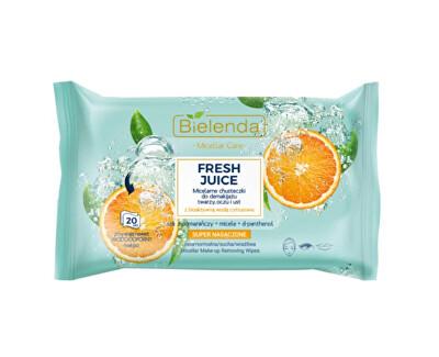 Micelární odličovací ubrousky Pomeranč Fresh Juice (Micellar Wipes) 20 ks