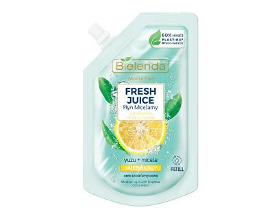 Apă micelară  Yuzu Fresh Juice - reumplere (Liquid Micellar) 45 ml