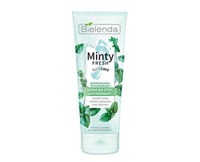 Cremă revigorantă pentru picioare Minty Fresh(Antiperspirant Foot Cream Refreshing And Smoothing ) 100 ml